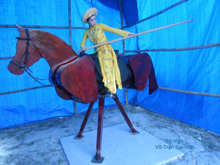 Võ Trận đại Việt Equestrian Art Military Horse Riding